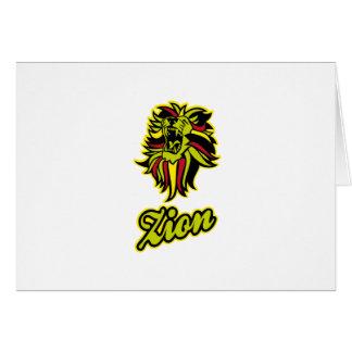 Zion. Iron Lion Zion HQ Edition Color Card