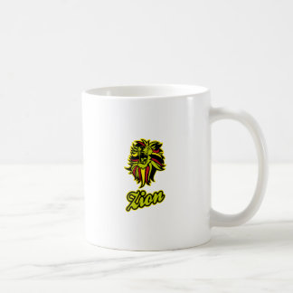Zion. Iron Lion Zion HQ Edition Color Coffee Mug