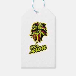 Zion. Iron Lion Zion HQ Edition Color Gift Tags