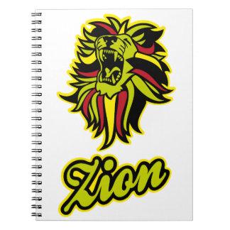 Zion. Iron Lion Zion HQ Edition Color Notebooks