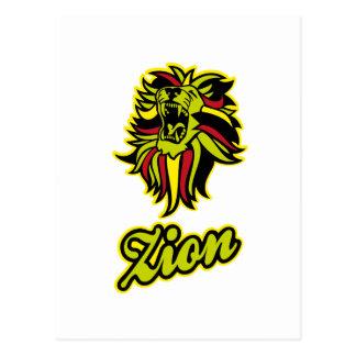 Zion. Iron Lion Zion HQ Edition Color Postcard