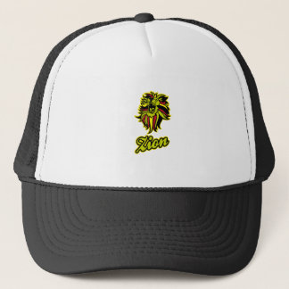 Zion. Iron Lion Zion HQ Edition Color Trucker Hat