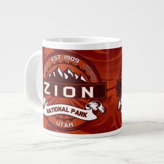 Zion Jumbo Crimson Large Coffee Mug