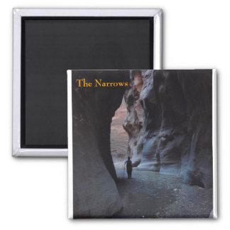 Zion Narrows fridge magnet