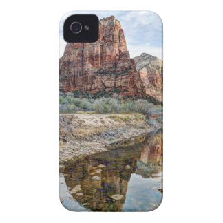 Zion National Park Angels Landing - Digital Paint Case-Mate iPhone 4 Cases