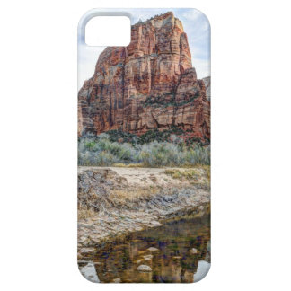 Zion National Park Angels Landing - Digital Paint iPhone 5 Case