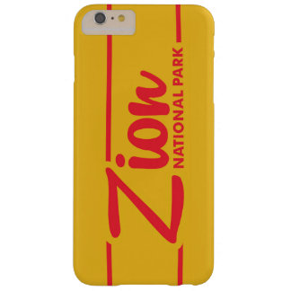 Zion National Park Barely There iPhone 6 Plus Case