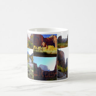 Zion National Park Collage Coffee Mug