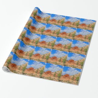 Zion national park in Utah Wrapping Paper