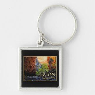 Zion National Park Key Chain