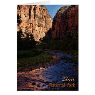 Zion National Park Note Card