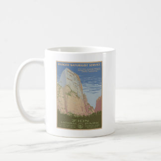 Zion National Park Poster Mug