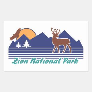 Zion National Park Sticker