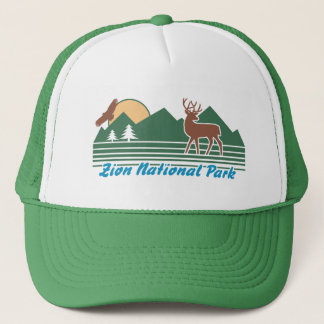 Zion National Park Trucker Hat