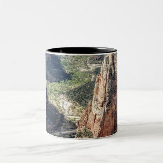 Zion National Park Two-Tone Coffee Mug