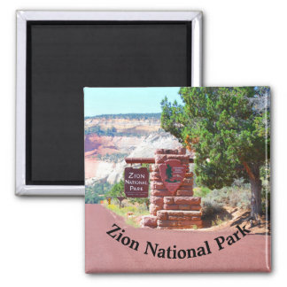 Zion National Park USA Magnet