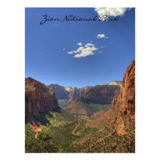 Zion National Park, UT  Postcard