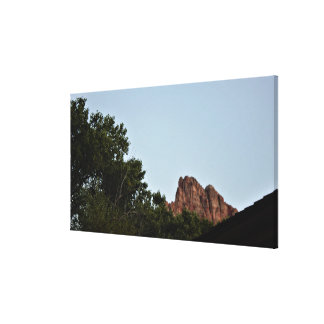 Zion National Park Utah Canvas Print