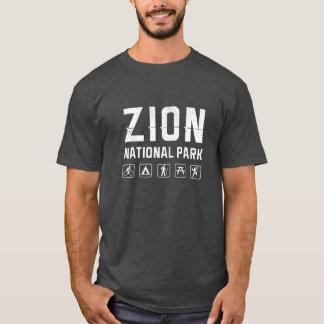 Zion National Park (Utah) tshirt - dark