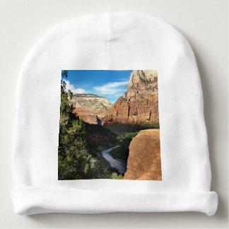 Zion National Park Utah Virgin River Baby Beanie