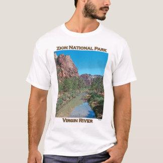 Zion National Park-Virgin River T-Shirt