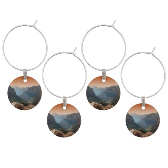 Zion National Park Wine Charm