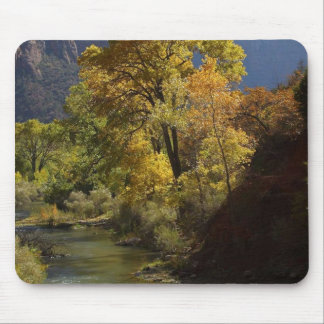 Zion National Park Yellow Mouse Pad