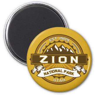 Zion Natl Park Goldenrod Magnet