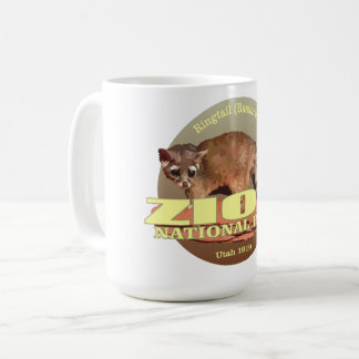 Zion NP (Ringtail) WT Coffee Mug