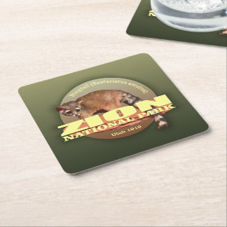 Zion NP (Ringtail) WT Square Paper Coaster