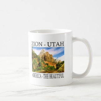 Zion Utah Coffee Mug