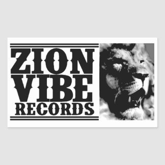 ZION VIBE LION Sticker
