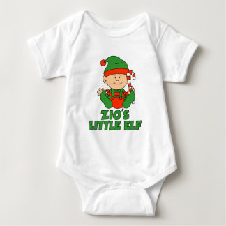 Zio's Little Elf Baby Bodysuit