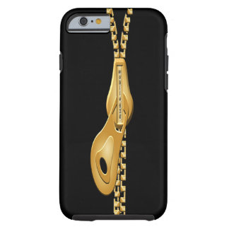 """Zip a Dee Doo Dah  GOLD iPHONE 6 BARELY THERE Tough iPhone 6 Case"