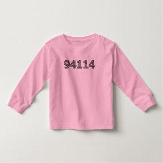 zip-code toddler t-shirt