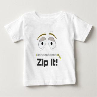Zip It! Baby T-Shirt