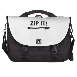 ZIP IT! LAPTOP BAGS