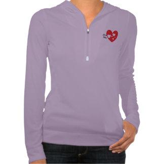 Zip Performance Hoodie, Lavender/Slate Sweatshirts