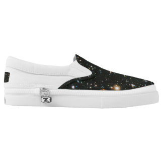 Zip thru the universe with these bodacious chucks Slip-On sneakers