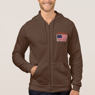 Zip-Up Hoodie for American Veteran
