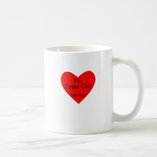 zipclub heart, The heart is fine.Working on my ... Mug
