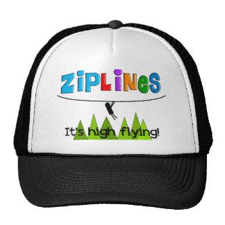 ZipLine Lovers Gifts Trucker Hat