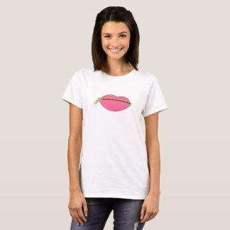 Zipped lips T-Shirt