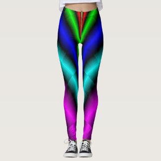 Zipper-Down Titanium Leggings