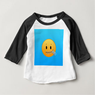 Zipper Emoji Baby T-Shirt