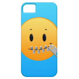 Zipper Emoji Case For The iPhone 5