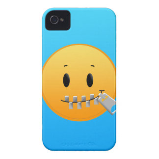 Zipper Emoji Case-Mate iPhone 4 Cases