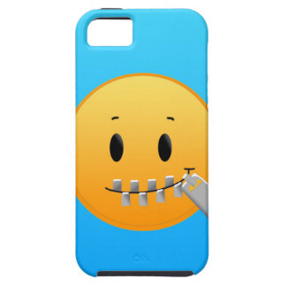 Zipper Emoji iPhone 5 Covers