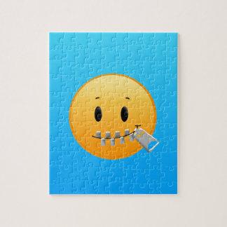 Zipper Emoji Jigsaw Puzzle