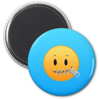 Zipper Emoji Magnet